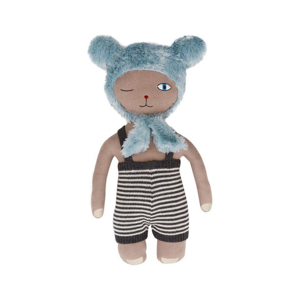 OYOY Topsi Bear Doll  Clay