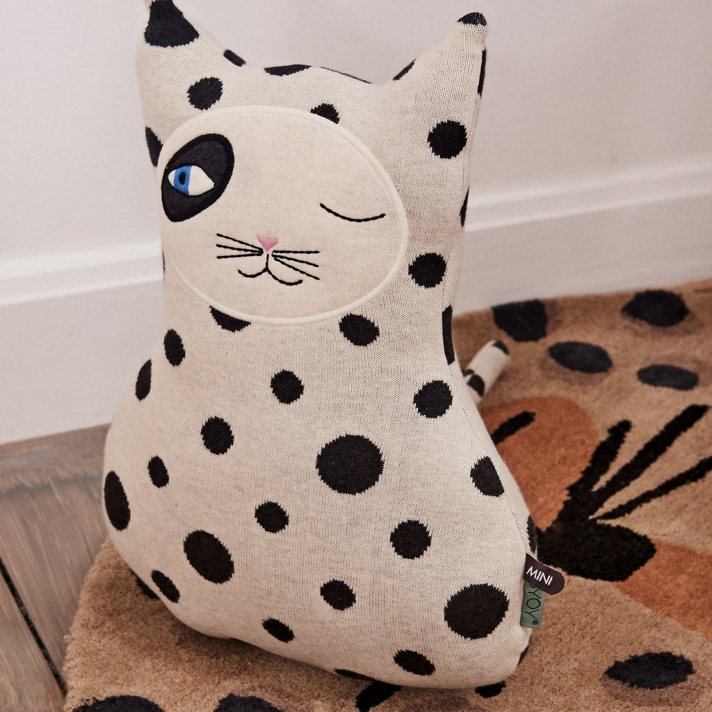 OYOY Cat Zorro Cushion
