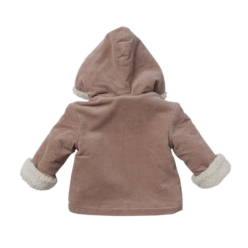 Bonheur Du Jour Hoodie Jacket Velvet Capucin