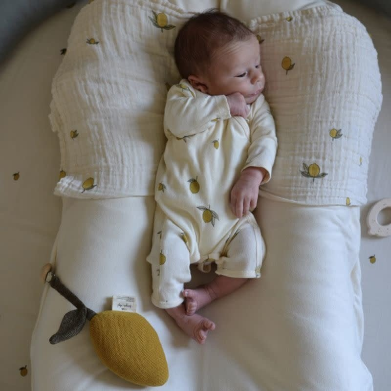 konges Sløjd Baby Lemon Pram Toy