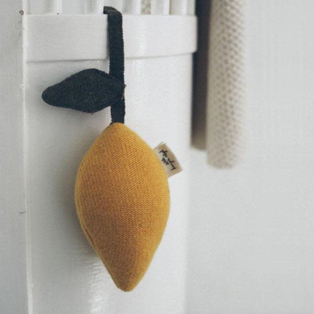 konges Sløjd Baby Lemon Pram Toy