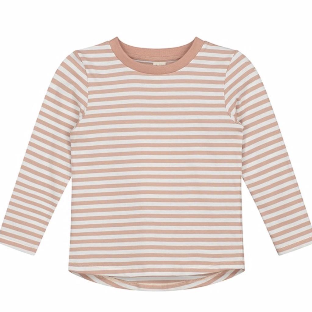 Gray Label Stripes Long Sleeves T-Shirt