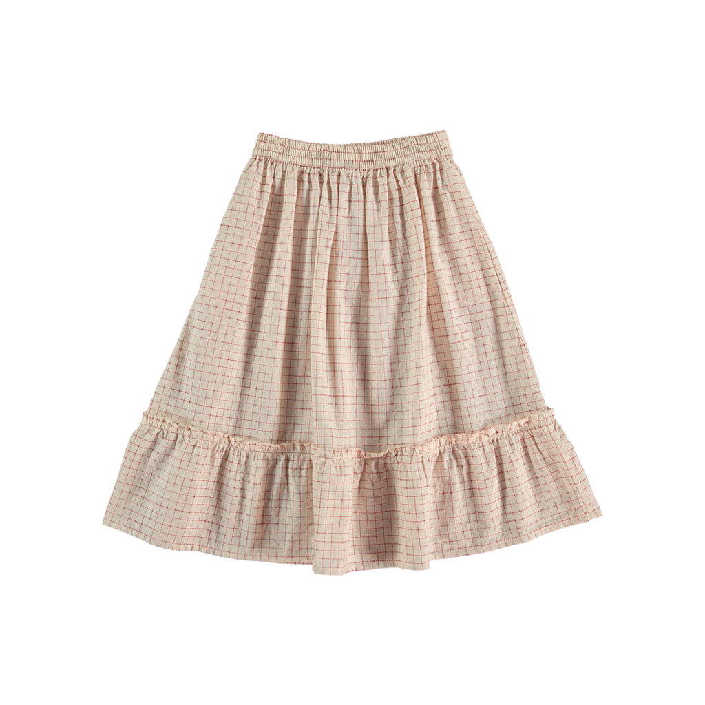 The new society Linda Check skirt