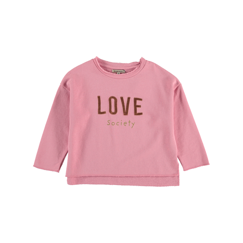 The new society  Love Sweatshirt