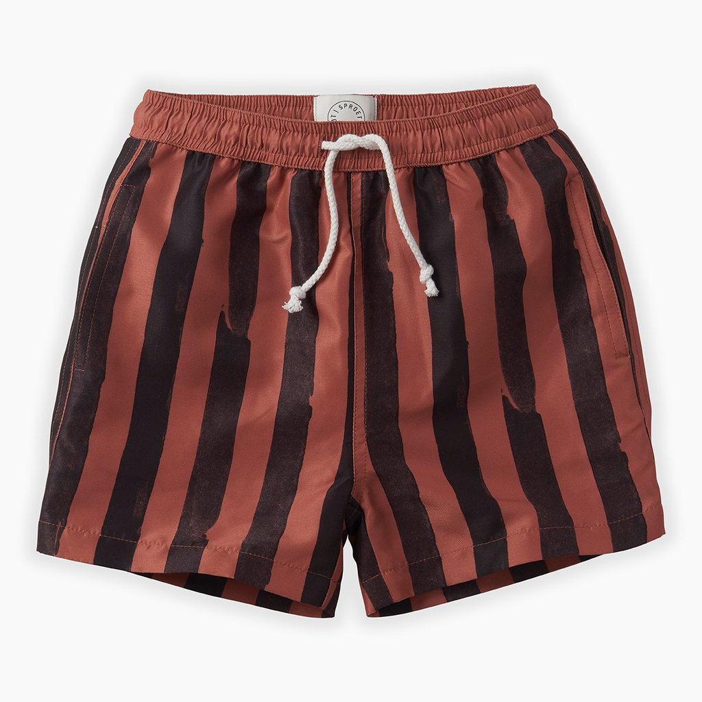 Sproet & Sprout Painted Stripe Swim short