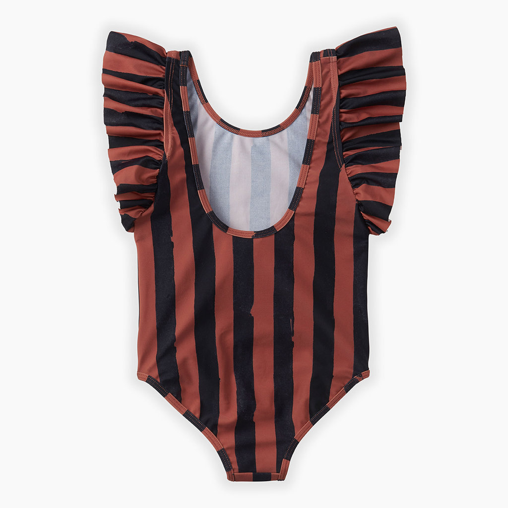 Sproet & Sprout Painted Stripes Swimsuit