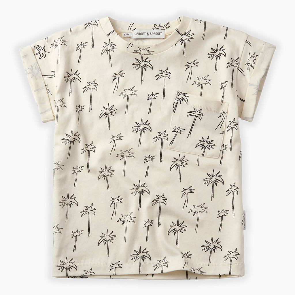 Sproet & Sprout Palm Tree T-Shirt