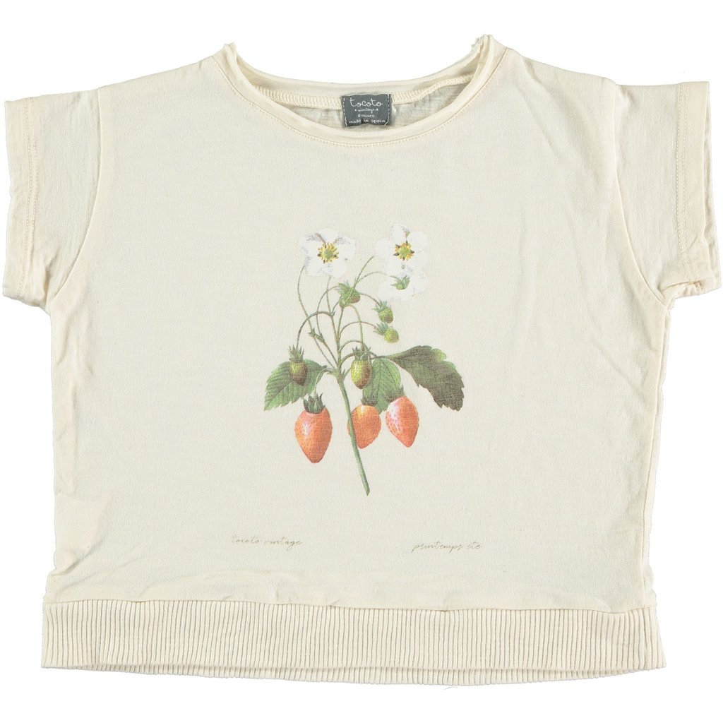 tocoto vintage Strawberry T-Shirt