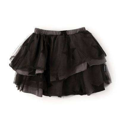 nununubaby layered star tulle skirt