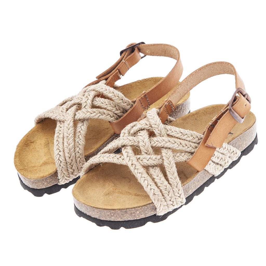 tocoto vintage Vintage Jute Bio Sandals