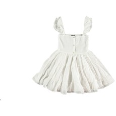 tocoto vintage Voile dress with lace in straps