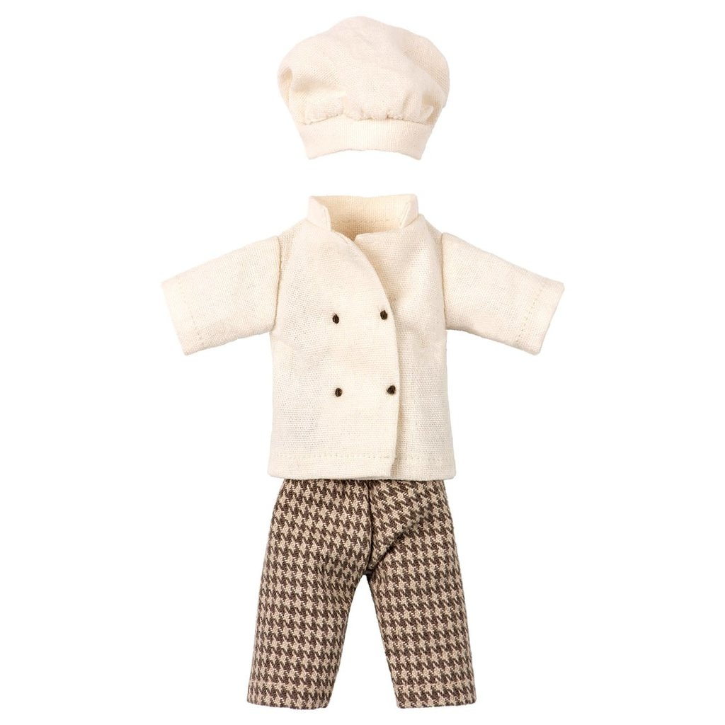 maileg Clothes for Chef Mouse
