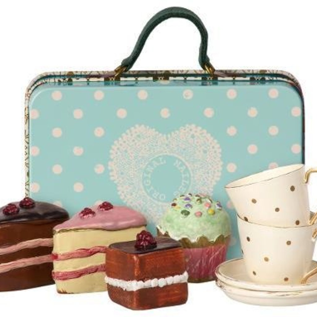 maileg Suitcase with Cakes