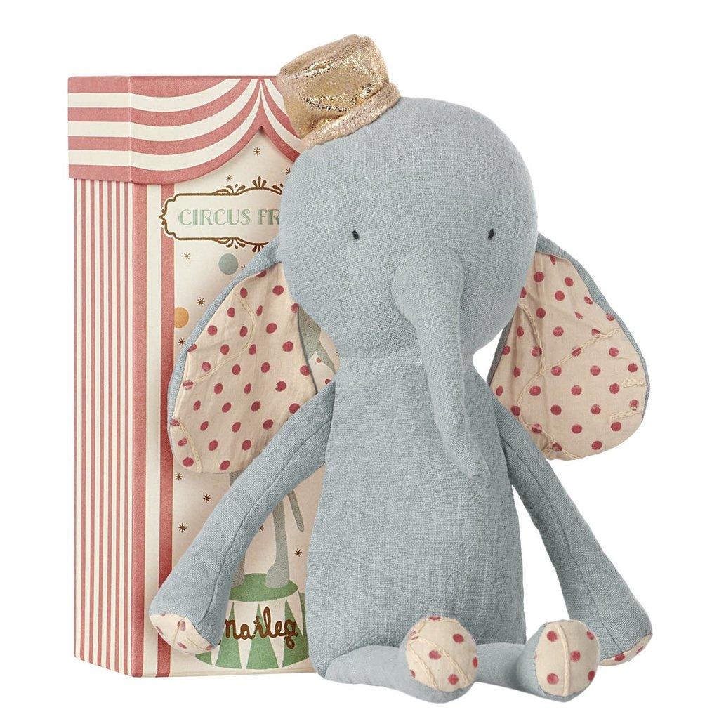 maileg Circus Friends Elephant Blue