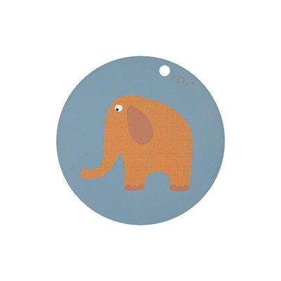 OYOY Elephant Placemat