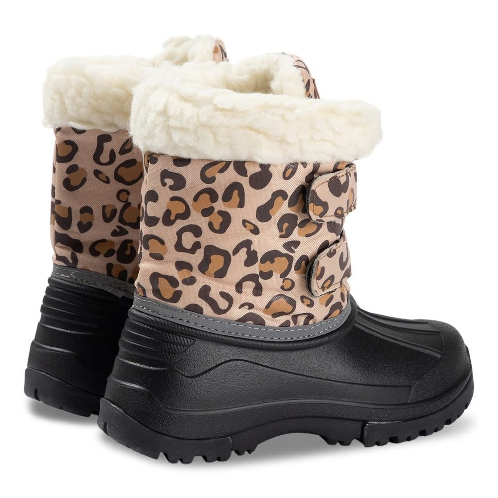 Kuling Amos winter boots Leopard