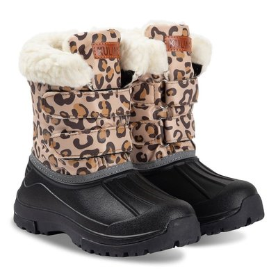 Kuling Amos winter boots Leopard