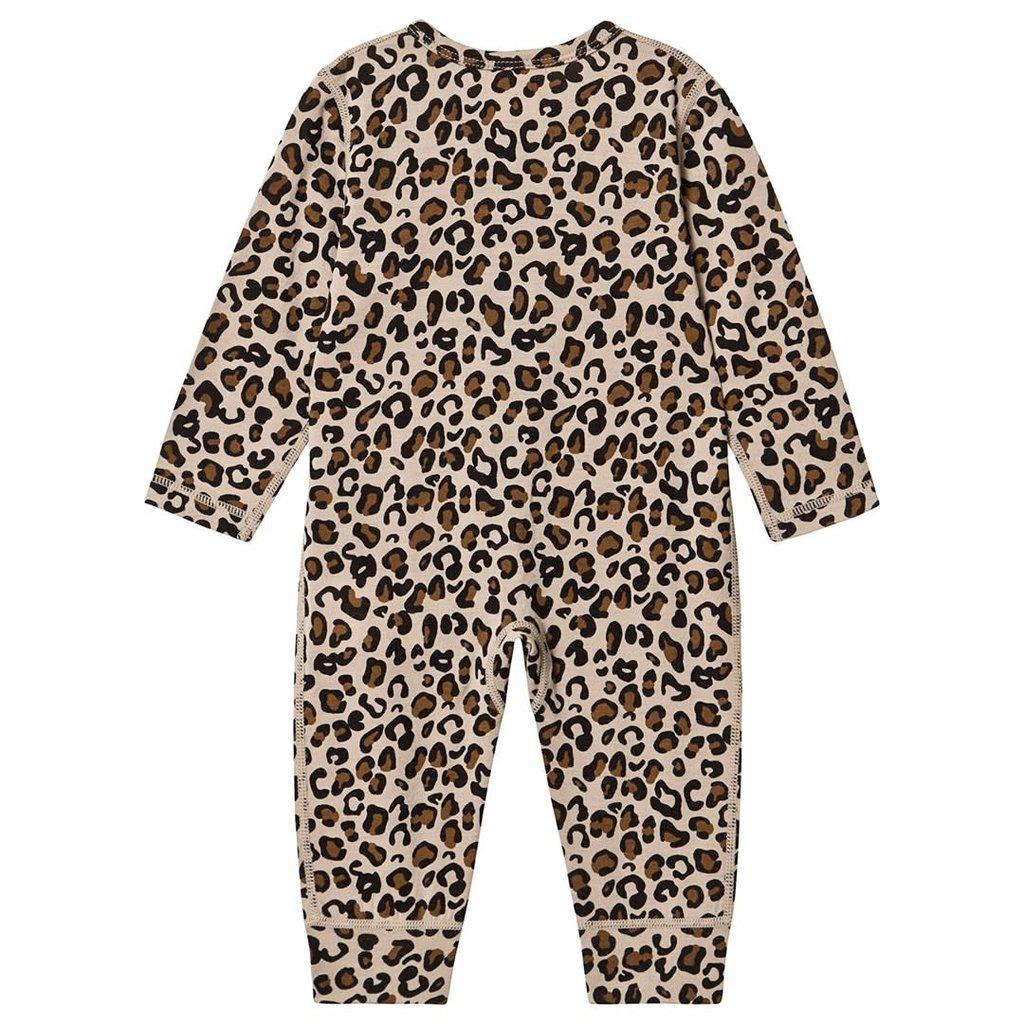Kuling baby Leopard wool suit