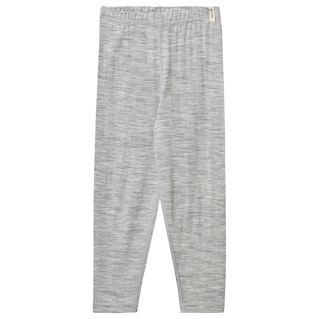 Kuling Wool Pants Grey Melange