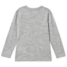 Kuling Wool Tee Grey Melange
