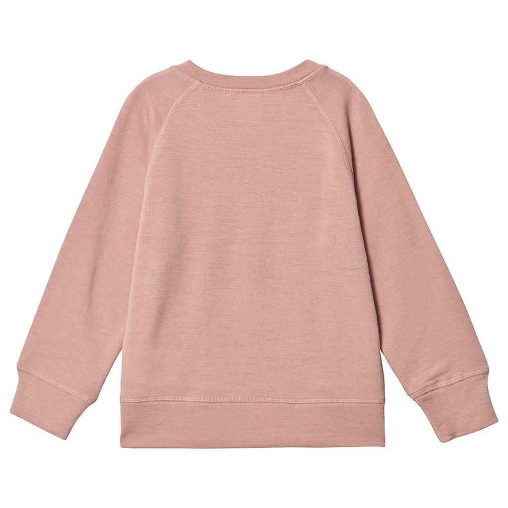 Kuling Wool Sweatshirt Pink