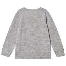 Kuling Wool Sweatshirt Grey Melange