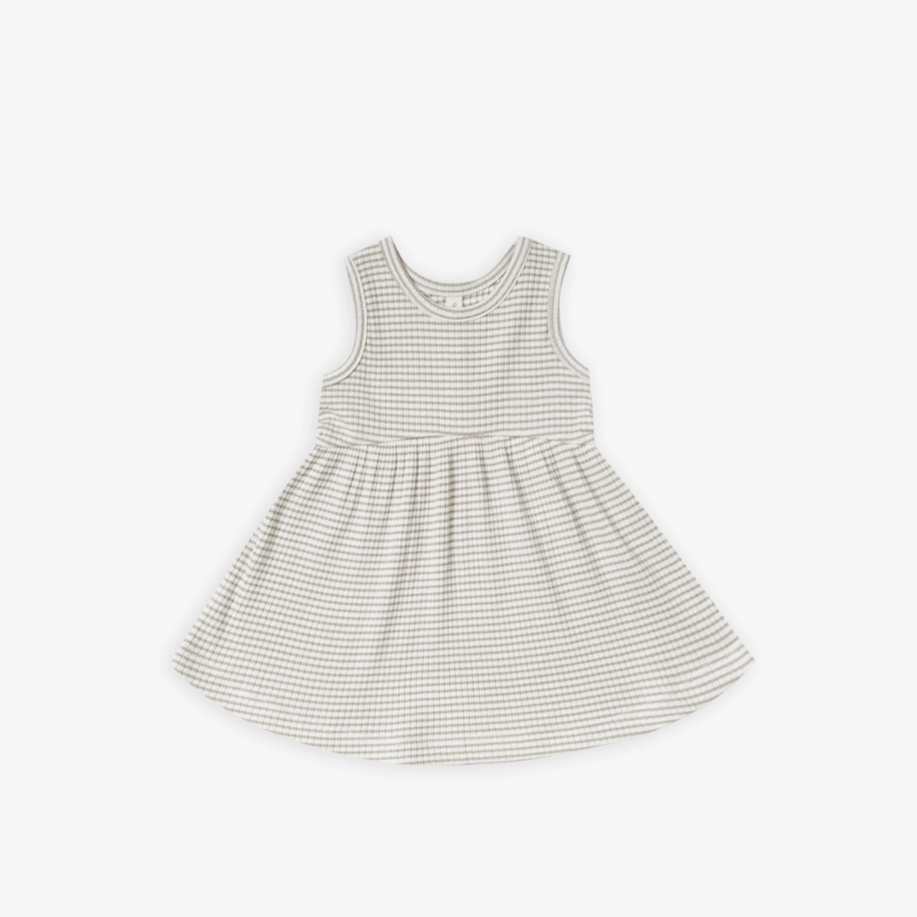 Quincy Mae Ribbed Tank Dress