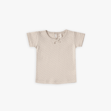 Quincy Mae Pointelle Tee