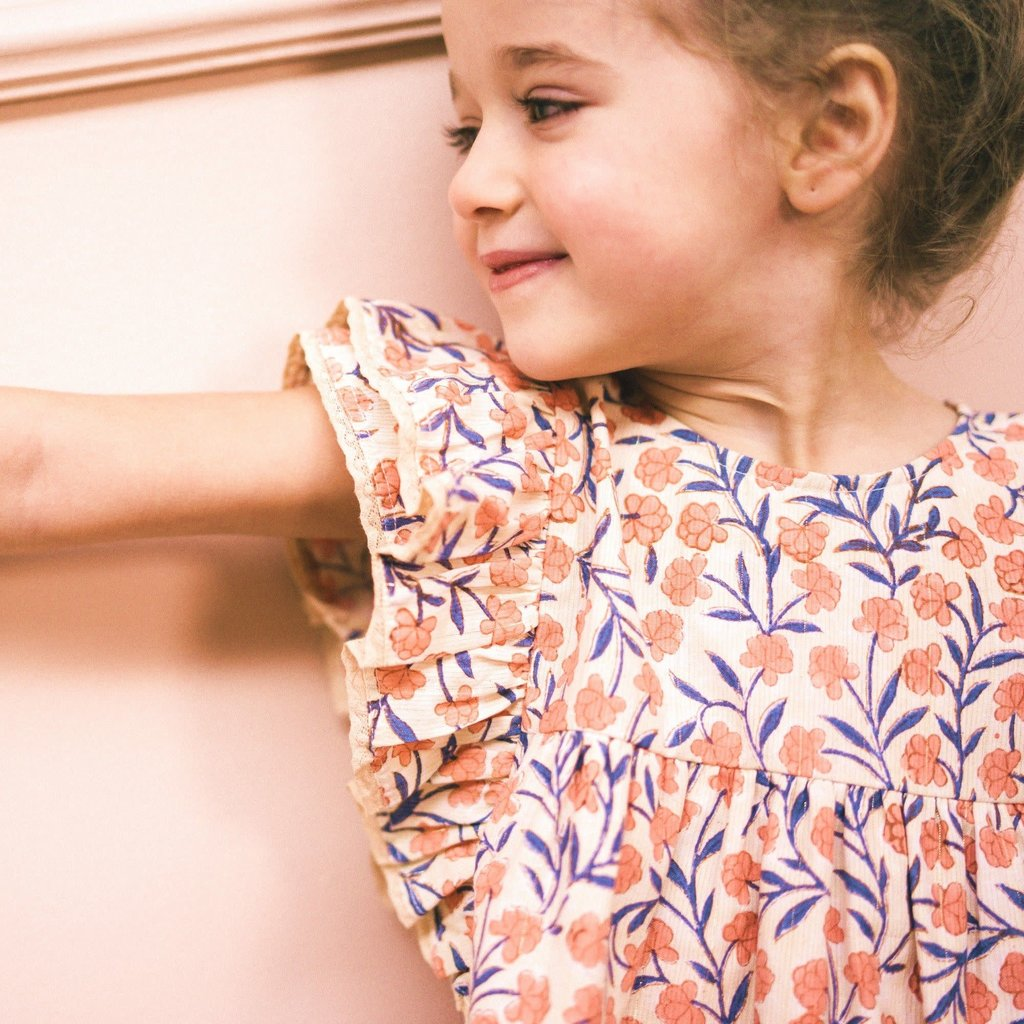 Bonheur Du Jour Printed Dress