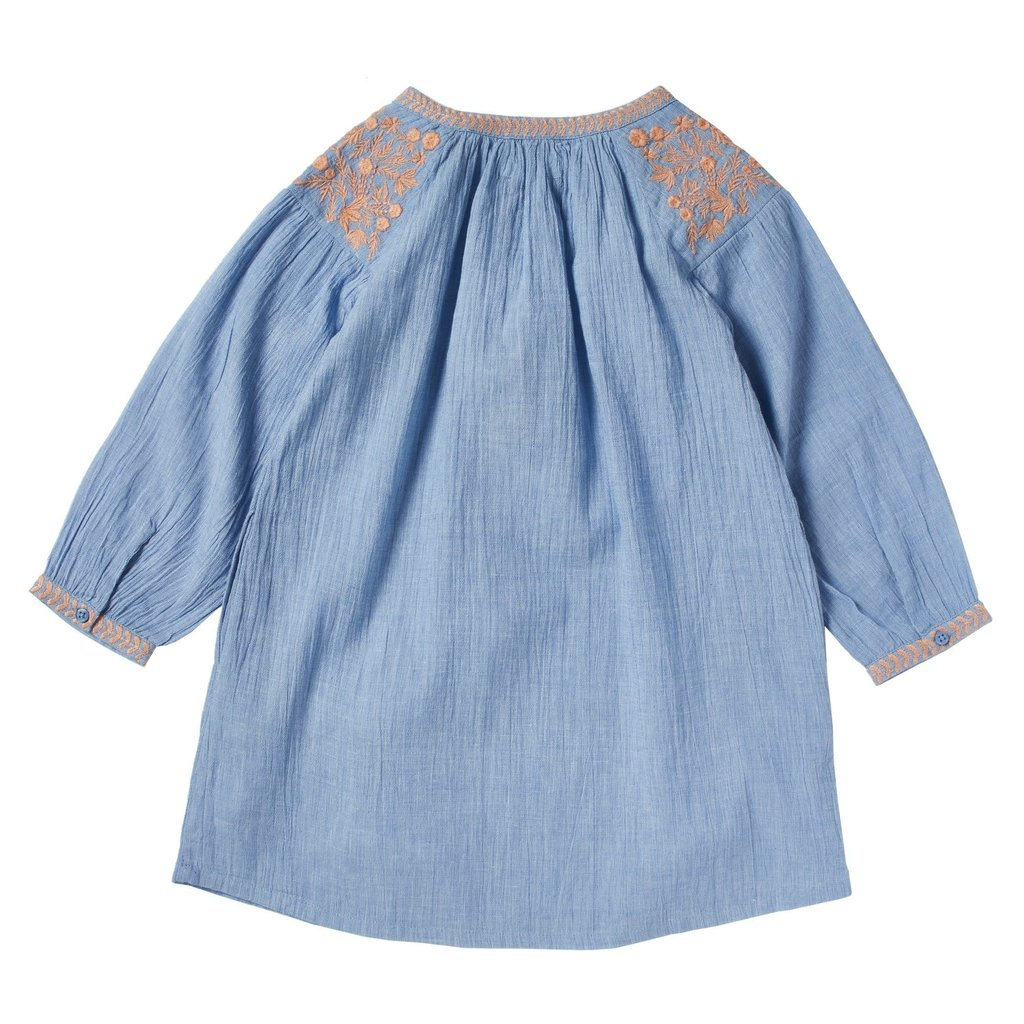 Bonheur Du Jour Embroidered Dress