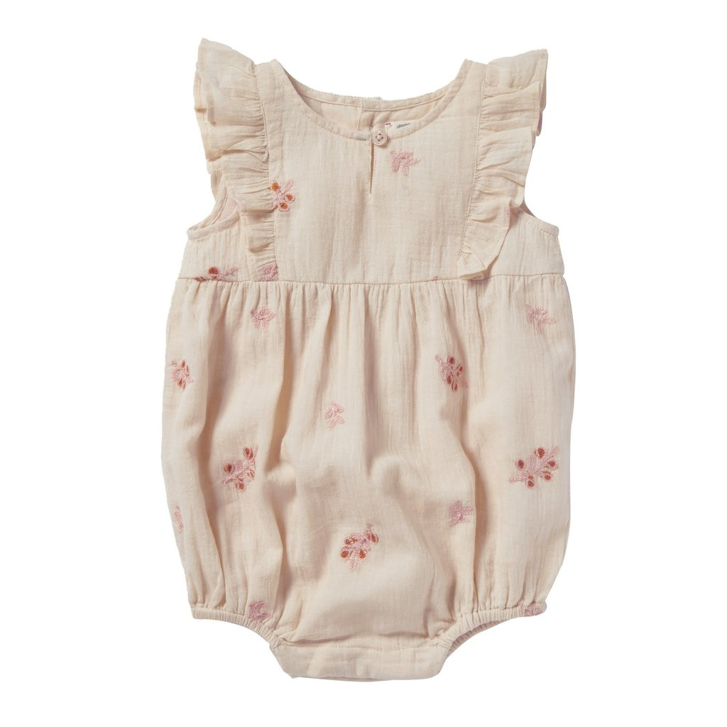 Bonheur Du Jour Embroidered Overall