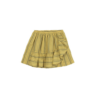 Barn of Monkeys Stripes mini skirt