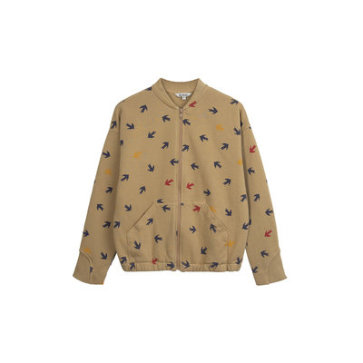 Barn of Monkeys Swallow Bomber Jacket