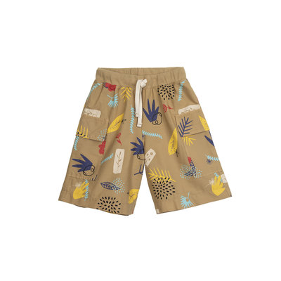 Barn of Monkeys Nature Printed Cargo Shorts