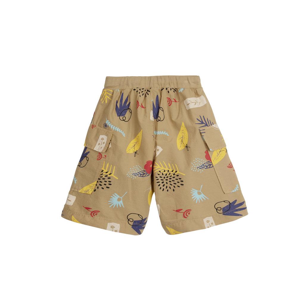 Barn of Monkeys Nature Printed Cargo Shorts