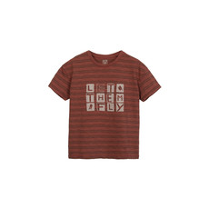 Barn of Monkeys Let them Fly Striped T-Shirt