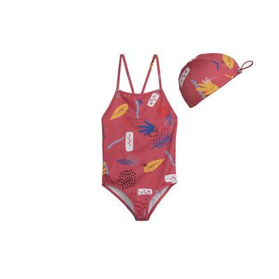 Barn of Monkeys Swimsuit cap set