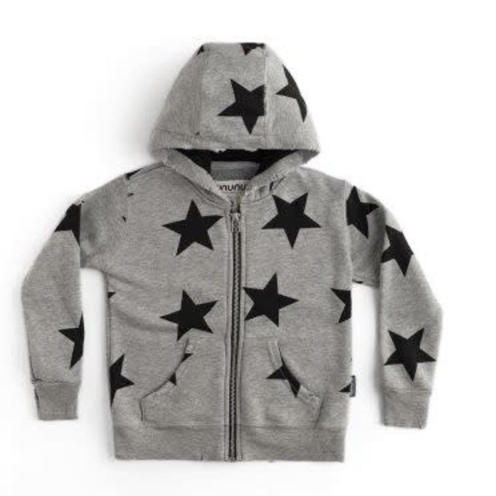 nununubaby star zip hoodie