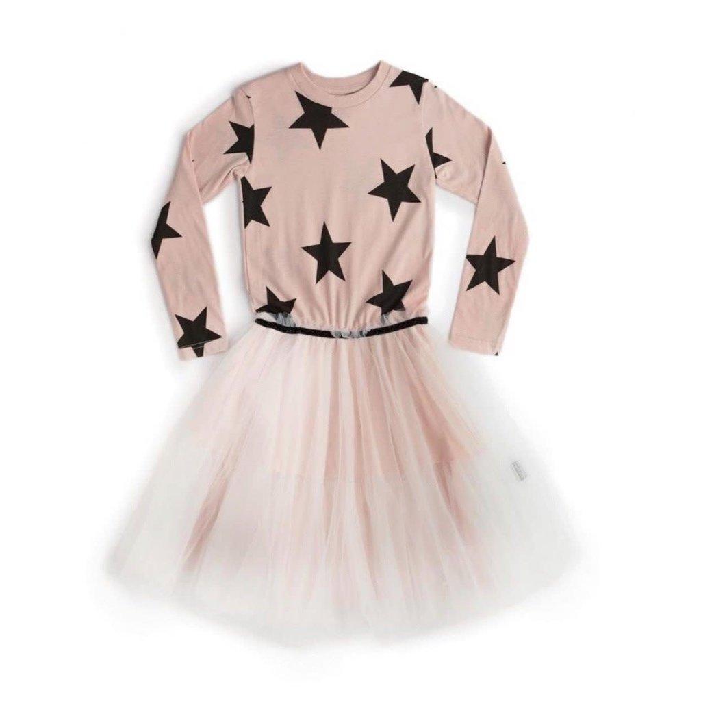 nununubaby magic star tulle dress