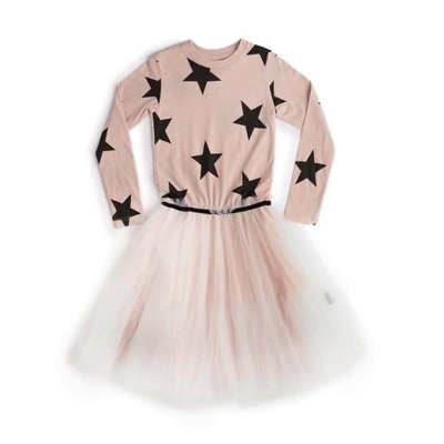 nununubaby magic star tulle dress