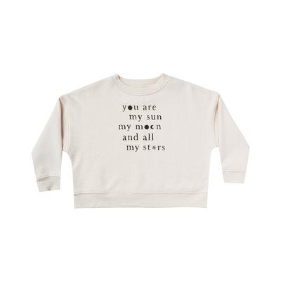 Rylee & Cru printed boxy pullover