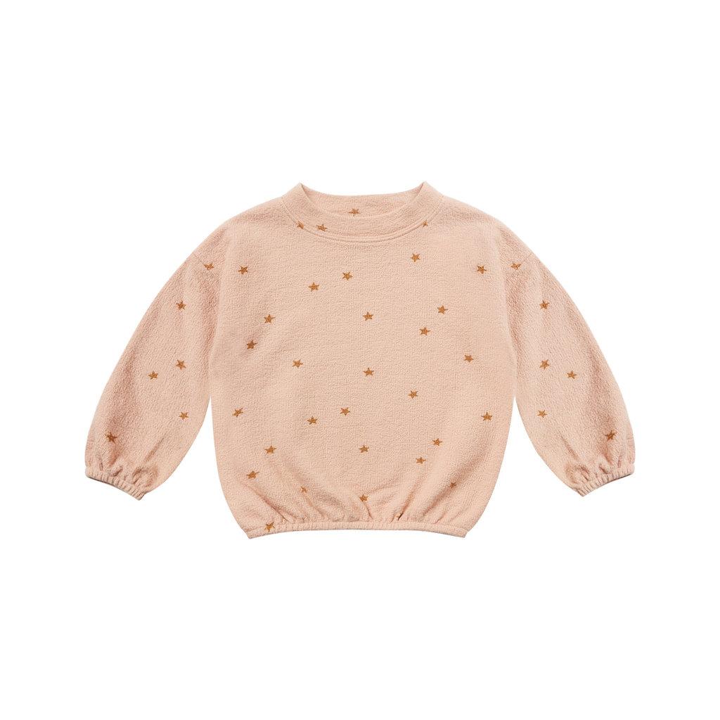 Rylee & Cru Slouchy printed pullover