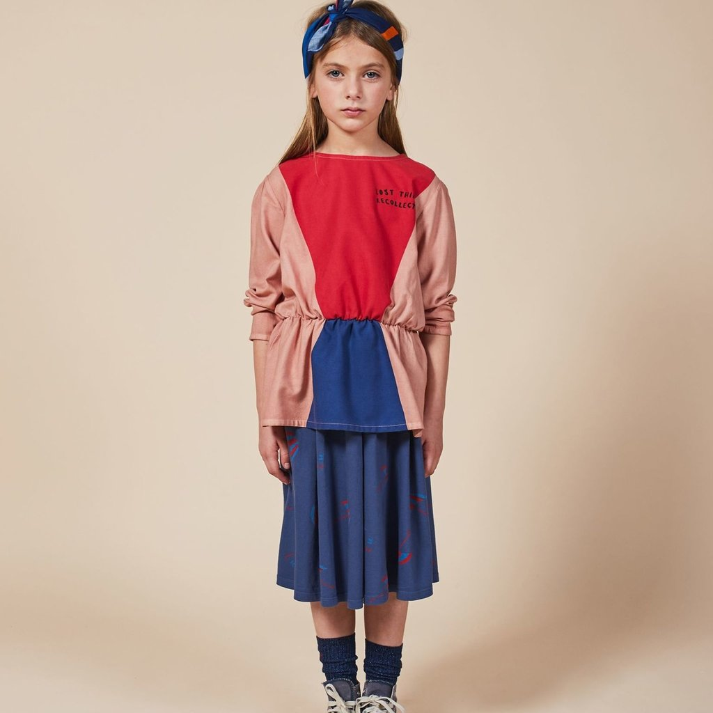 bobo choses Triangles Girl Shirt