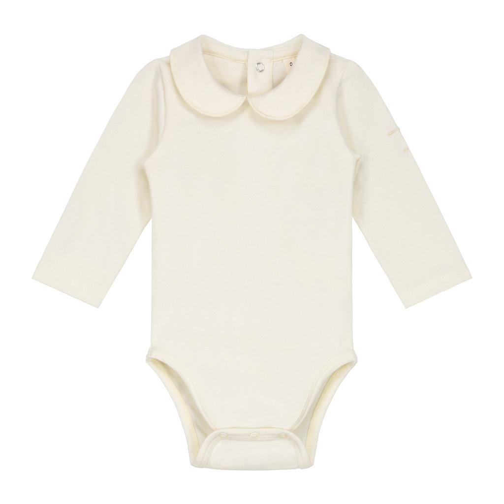 Gray Label baby collar onesie