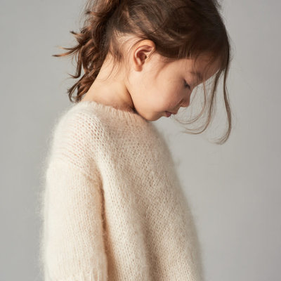 Belle Enfant Boxy mohair sweater