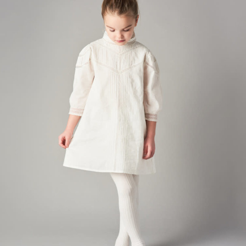 Belle Enfant Joan Puff Sleeve lace dress