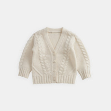 Belle Enfant Cable Knit Cardigan
