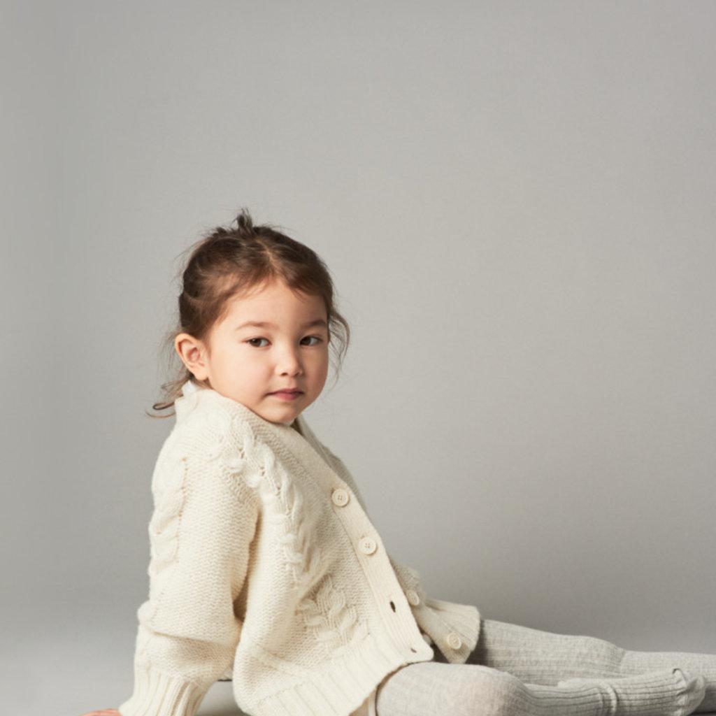 Belle Enfant Cable Knit Cardigan