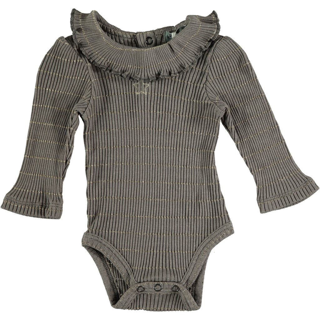 tocoto vintage Tocoto Vintage Ribbed Baby Onesie AW20-W41420