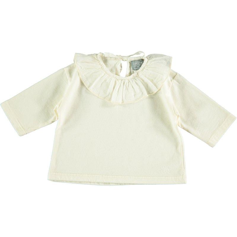 tocoto vintage Baby Collar T-Shirt